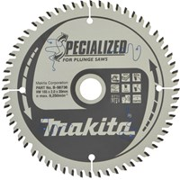 Makita SPECIALIZED Plunge Saw MDF and Laminate Saw Blade