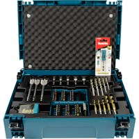 Makita 71 Piece MakPac Drill and Screwdriver Bit Set