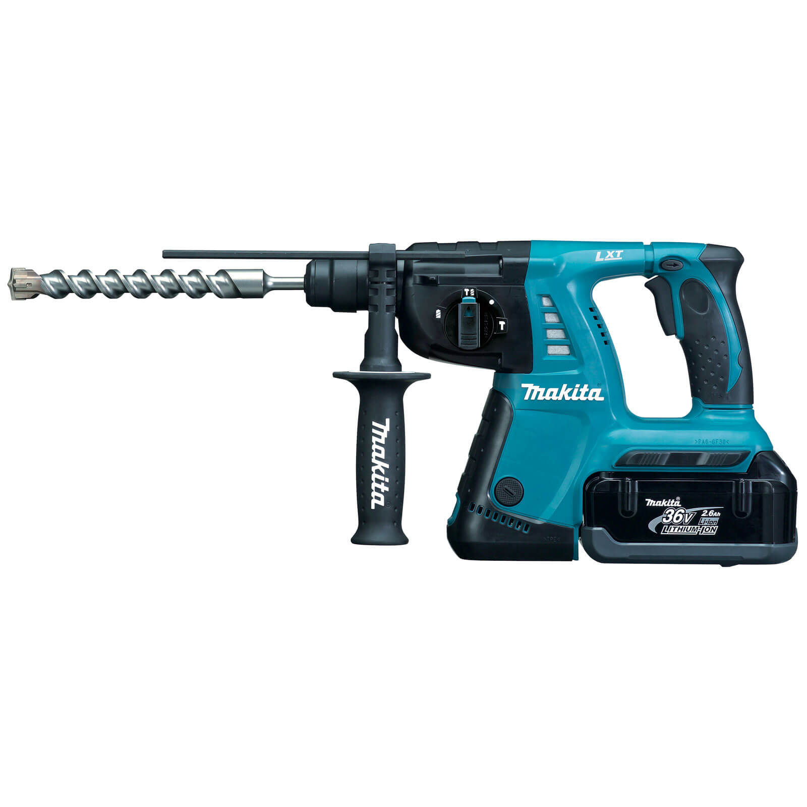 Makita BHR262RDE 36V LXT Cordless SDS Hammer Drill 2 x 2.6ah Liion Charger Case