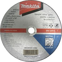 Makita Flat Metal Cutting Disc