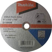 Makita A41 Flat Metal Cutting Disc