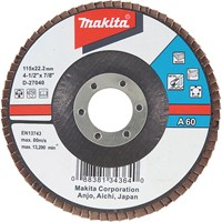Makita Zirconium Abrasive Flap Disc