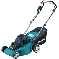 Makita DLM380 Twin 18v Cordless Rotary Lawnmower 380mm