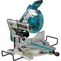 Makita DLS110 Twin 18v Cordless LXT Brushless Mitre Saw 260mm