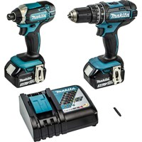 Makita DLX2131JX1 18v Cordless LXT Brushless Combi Drill and Impact Driver Kit