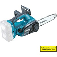Makita DUC252 Twin 18v LXT Cordless Chainsaw