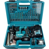 Makita HR140DWAE1 12v Max Cordless CXT SDS Hammer Drill & Accessories