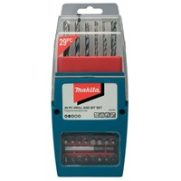 Makita 29 Piece Drill and Screwdriver Bit Set