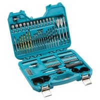 Makita 100 Piece Trade Drill Bit and Accessory Set