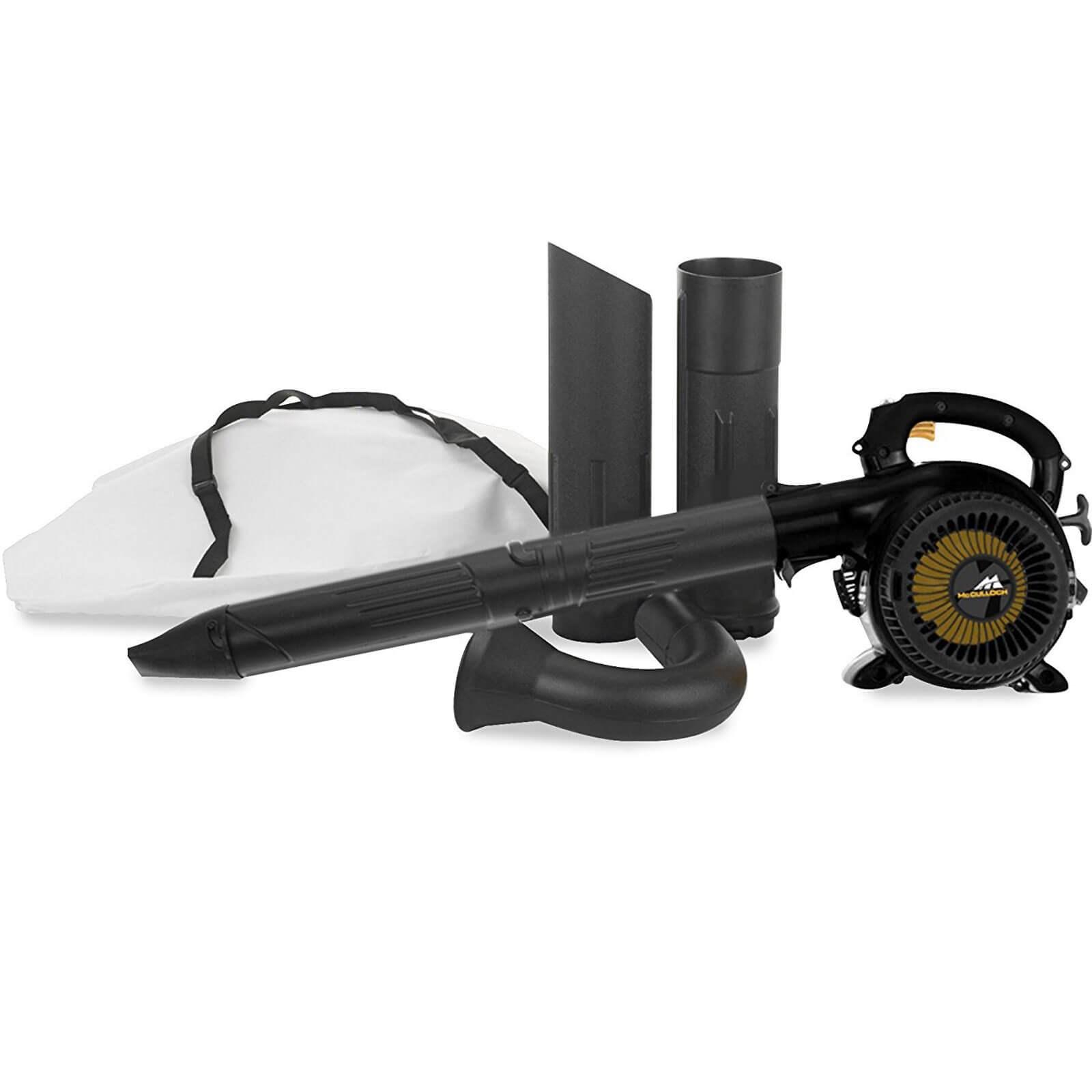 McCulloch GBV 325 Petrol Garden Vacuum and Leaf Blower