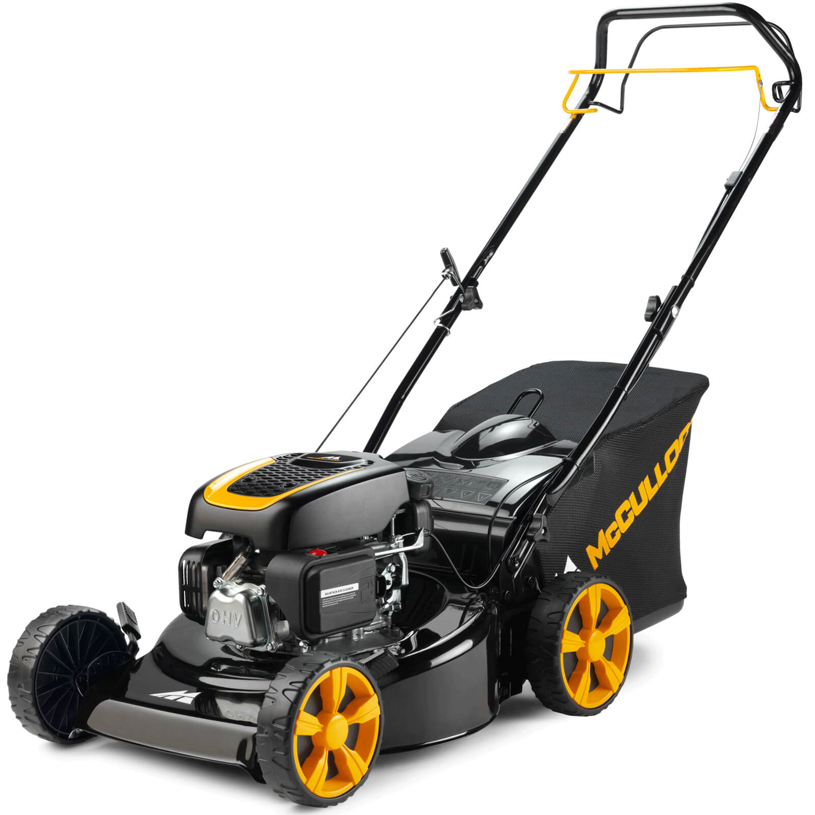 Image of McCulloch M46-120R Self Propelled Petrol Rotary Lawnmower 460mm