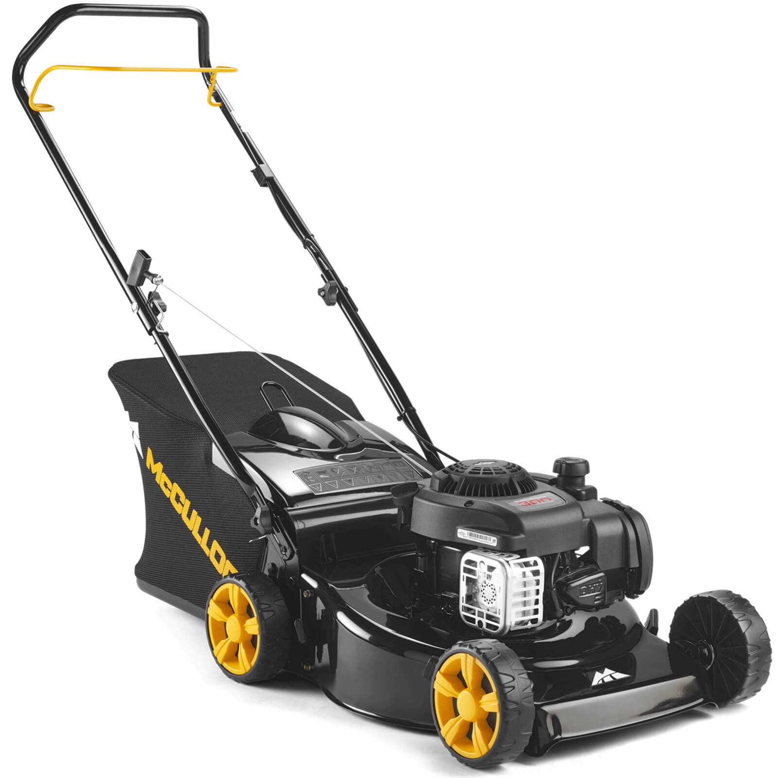 Image of McCulloch M46-125 CLASSIC PLUS Push Petrol Rotary Lawnmower 460mm