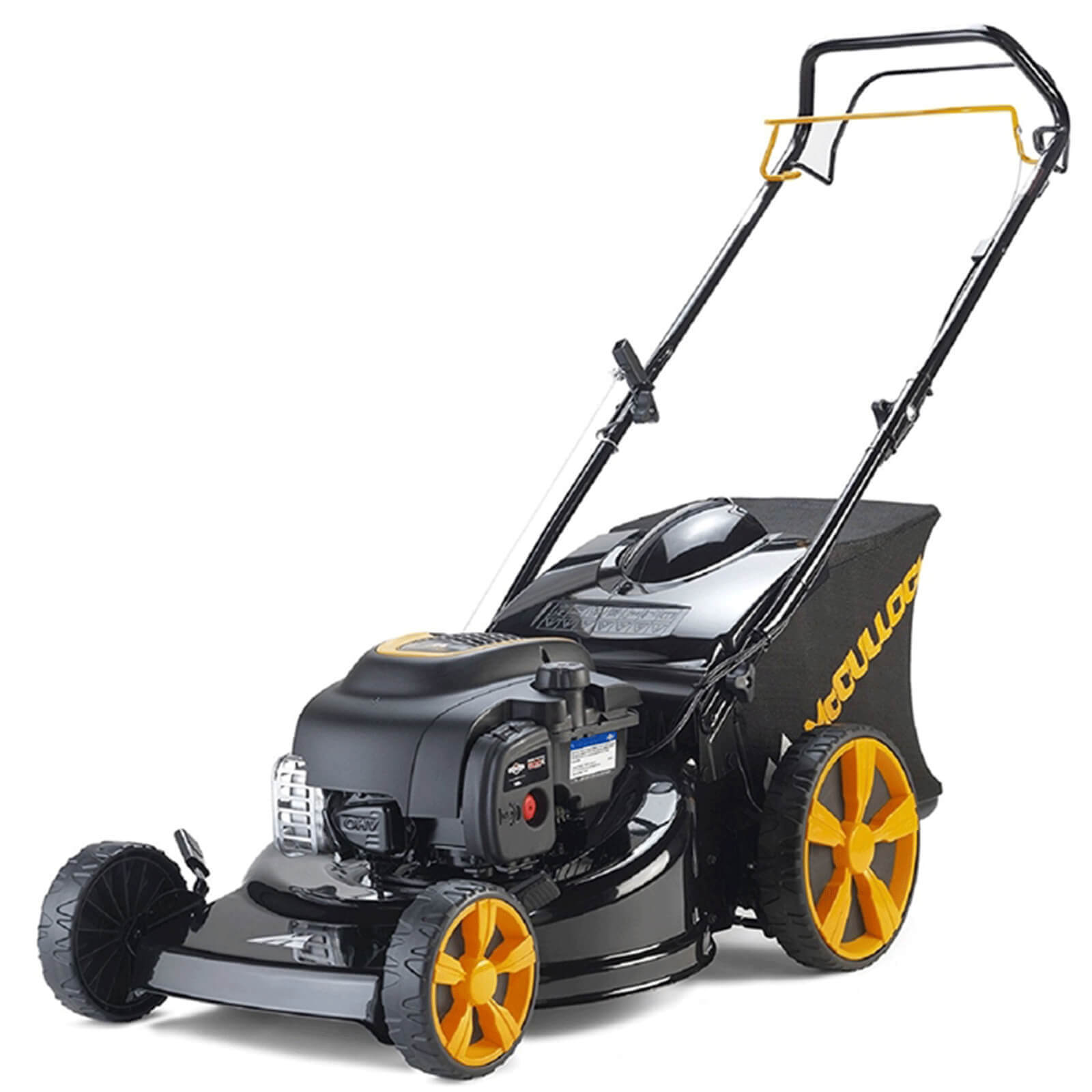 Image of McCulloch M46-125R CLASSIC PLUS Self Propelled Petrol Rotary Lawnmower 460mm