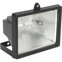 Sealey Tungsten Halogen Floodlight with Wall Bracket