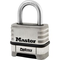 Masterlock Pro Series Stainless Steel Combination Padlock
