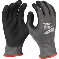 Milwaukee Cut Level 5 Dipped Work Gloves