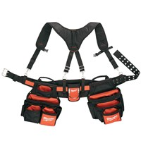 Milwaukee Heavy Duty Contractor Work Belt & Suspension Rig