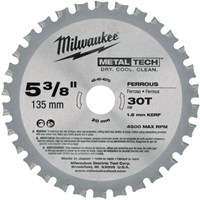 Milwaukee Endurance Metal Steel Cutting Circular Saw Blade