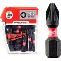 Milwaukee Shockwave Impact Pozi Screwdriver Bit