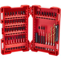 Milwaukee 48 Piece Shockwave Impact Screwdriver & Drill Bit Set