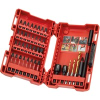 Milwaukee Shockwave 40 Piece Impact Drill and Screwdriver Bit Set