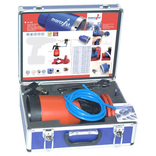 Image of Marcrist PG850 Wet Diamond Tile Drilling Starter Kit