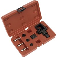 Sealey Heavy Duty Motorcycle Chain Splitter & Riveting Tool Kit