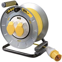 Masterplug Pro XT Metal Cable Reel 110 Volt