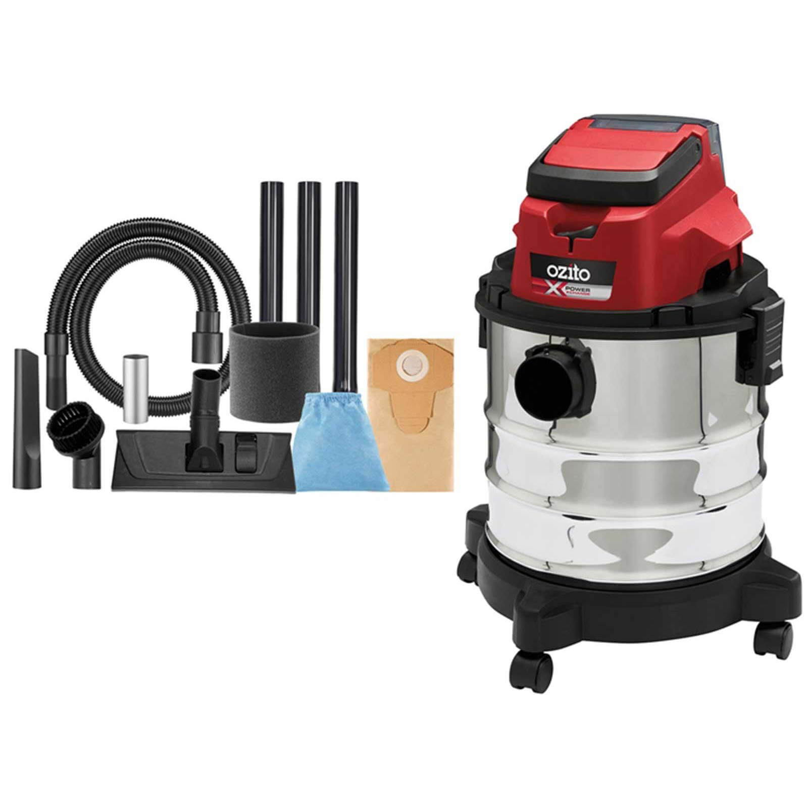 Ozito PXVWD 18v Cordless Mini Wet and Dry Vacuum Cleaner No Batteries No Charger No Case