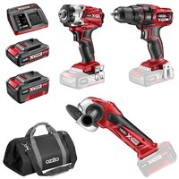 Ozito PXDDGK-600U 18v Cordless 3 Piece Power Tool Kit