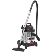 Sealey PC200SD Industrial Wet and Dry Vacuum Cleaner