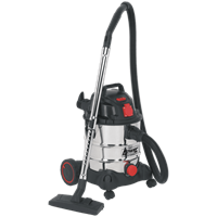 Sealey PC200SDAUTO Industrial Wet and Dry Vacuum Cleaner