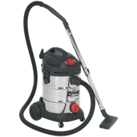 Sealey PC300SDAUTO Wet and Dry Vacuum Cleaner
