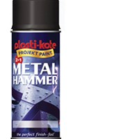 Plastikote Metal Paint Hammer Aerosol Spray Paint