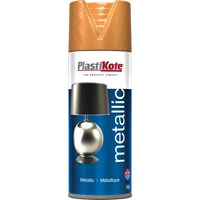 Plastikote Metallic Aerosol Spray Paint