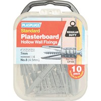 Plasplugs Plasterboard Hollow Wall Fixings