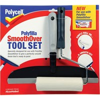 Polycell Polyfilla SmoothOver Roller and Spreader Kit