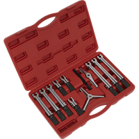 Sealey 12 Piece Bearing and Gear Puller Set