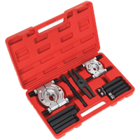Sealey PS984 Double Mechanical Bearing Separator Puller Set