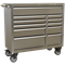 Sealey Premier 11 Drawer Wide Stainless Steel Roller Cabinet