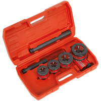Sealey 5 Piece Pipe Threading Kit BSPT