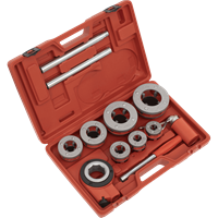 Sealey 7 Piece Pipe Threading Kit BSPT