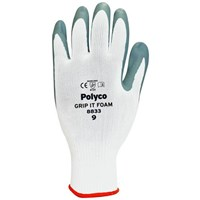 Polyco Grip It Foam Safety Nitrile Gloves