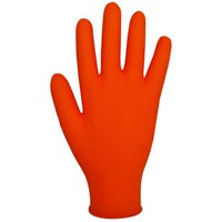 Polyco Bodyguard Finite Orange Heavy Duty Disposable Gloves