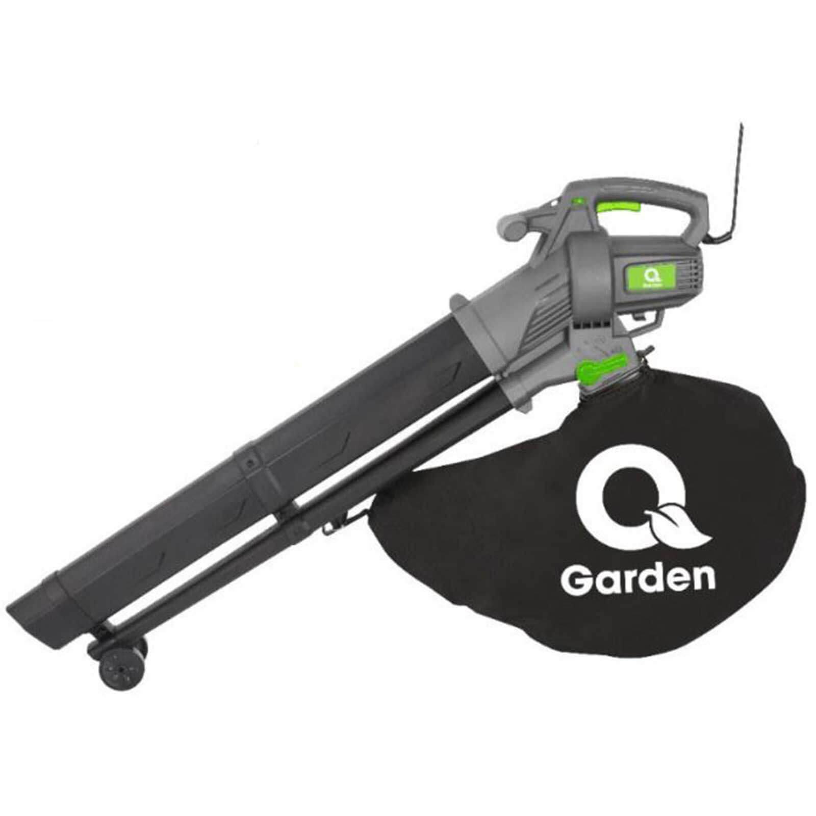 Q Garden BV3000 Garden Vacuum & Leaf Blower 3000w 240v