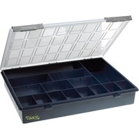 Raaco 15 Compartment A4 Organiser Case