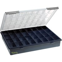 Raaco 32 Compartment A4 Organiser Case