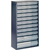 Raaco 40 Drawer Metal Cabinet