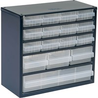 Raaco 16 Drawer Metal Cabinet