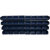 Raaco Bin Wall Panel & 32 Bins